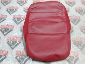 2005 2013 Corvette C6 Oem Seat Middle Insert Leather Red