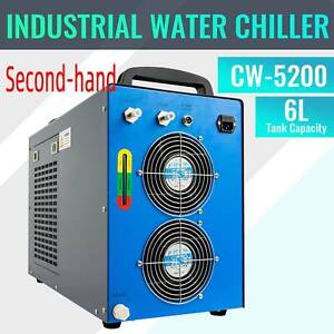Secondhand Cw 5200 Industrial Water Chiller For 60 150w Co2 Laser Tubes