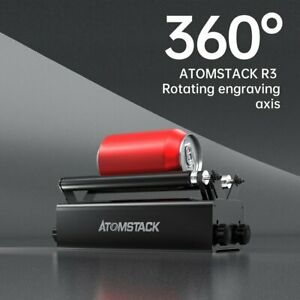 Rotary Attachment Roller For Atomstack Laser Engraver Machine Rotating Accessory