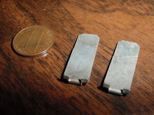 1940 Chevrolet Special Master 85 Deluxe Coupe Sedan Nos Front Hood Molding Clips