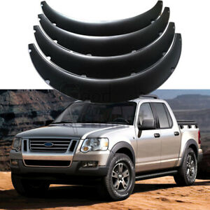 For Ford Explorer Sport Trac Car Fender Flares 4 5 Wide Body Kit Wheel Arches 4