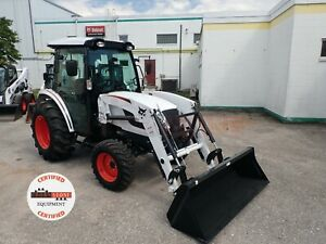 2020 Bobcat Ct5545 Tractor W Loader Cab 4x4 Hydro 86hrs 45hp One Owner