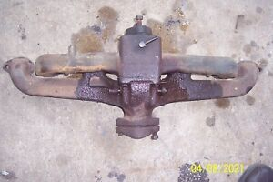 1946 1949 Gmc Chevrolet Intake Carb Exhaust Manifold Assembly
