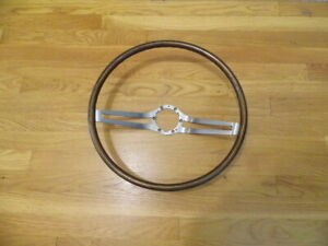 Pretty 1964 1965 1966 Buick Riviera Gs Wood Steering Wheel With No Cracks