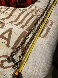 2 46 Uhaul Trailer Safety Chain Chains Towing Pulling Rv Boat Camper