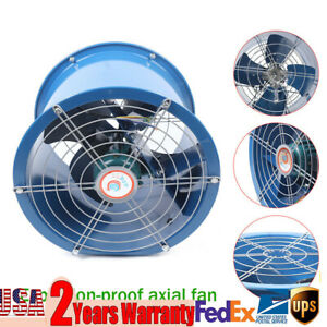 16 Extractor Fan Blower Portable Axial Duct Fan Ventilator Industrial Air Mover