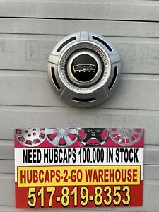1967 79 Ford F250 F350 Poverty Truck Hubcap Beautiful 12 Silver Paint Nice