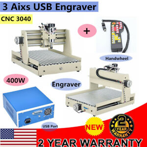 3 Axis Router Engraver 3040 Cnc Engraving Woodworking Milling Carving Machine rc