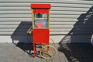 Gold Medal Funpop Popcorn Popper Machine With Cart Model 2404