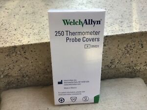 Welch Allyn 05031 Probe Covers Suretemp Sealed case Of 7500