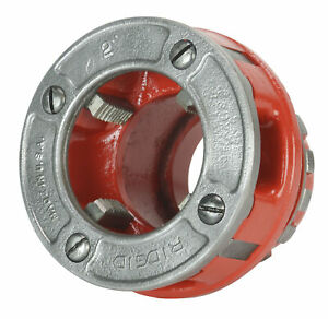 Reconditioned Ridgid 37415 Old Style Die Head 2 Npt Alloy Rh For 12 r