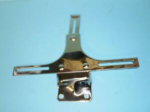 1933 1934 1935 1936 Ford Car And Truck Front License Plate Bracket Stainless