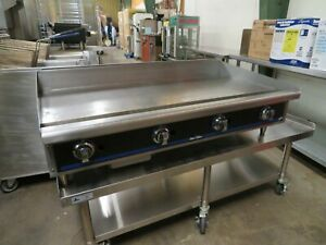 Star 848ta 48 Gas Griddle W Thermostatic Controls 1 Steel Plate natural Gas