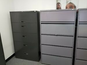 Steelcase Premium File Cabinet 5 drawer Lateral Must Sell