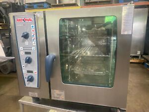 Rational Cmp61g natural Gas Combimaster Combi Oven fully Refurbished