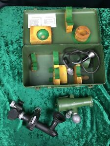 Rare Russian Military Perisiscope Sight Pg 1m Collimater K1 Metal Case