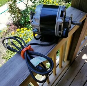 Emerson 1 3 Hp 56 Frame Ac Electric Motor 1725 Rpm Single Phase 5 4 Amps