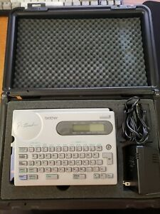 Brother P touch Electronic Label Maker Printer Pt 25 W Hard Case
