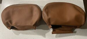 2001 2006 Bmw E46 M3 Coupe Cinnamon Oe Leather Passenger And Driver Head Rest