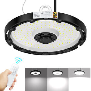 Led High Bay Lights 200w Commercial Warehouse Lighting Fixture Wireless Dimmable