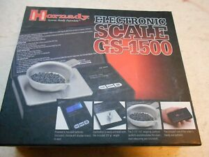 Hornaday electronic reloading scale GS 1500 $35.00