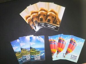 2 Year Planners 2022 2023 Mixed Lot Of 10 W 3 Different Covers New