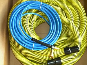 Carpet Cleaning 50ft Vacuum And Solution Hoses 1 5