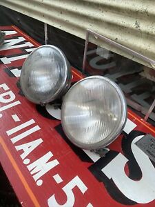Vintage Headlamps Tiltray Guide Early Big Approx 12 Pair Read Packard