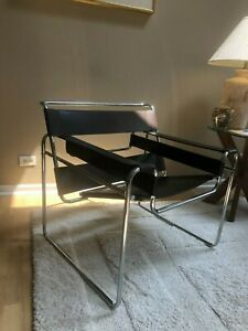 Wassily Breuer Chair Mid 70 S Authentic From Knoll