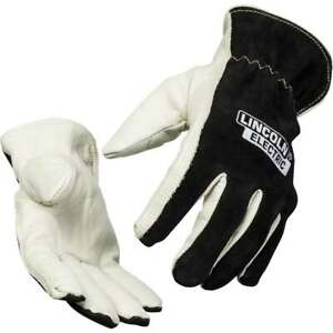 Lincoln Electric Welders Leather Drivers Gloves Medium