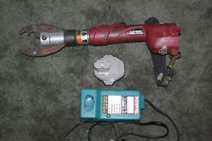 Burndy 6 Ton Crimper With Battery Charger