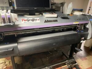 Mimaki Cjv30 100 40 Wide Format Solvent 4 Color Printer And Cutter used