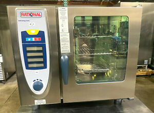 Rational Scc 61g natural Gas Combi Oven W carecontrol fully Refurbished