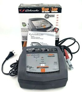 Schumacher Electric Xc10 ca 10 Amp 6v 12v Car Automatic Battery Fast Charger