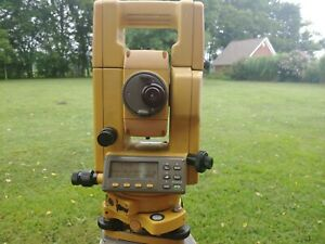 Topcon Gts 312 Total Station For Surveying 1 Month Warranty