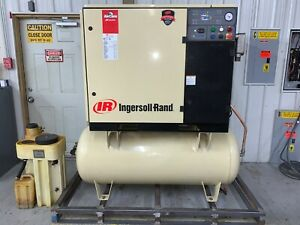 Ingersoll Rand 30 Hp Rotary Screw Air Compressor Extras