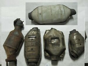 5 Pcs Scrap Catalytic Converters Ford F6582dc Ford 5f250 Gm 25128319