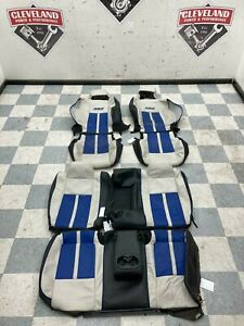 2011 Challenger Srt 8 Inaugural Oem Complete Seats Leathers Skins Covers Seat
