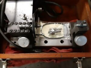 Harig Lectric Centers For Precision Motorized Grinding Between Centers Case Nice