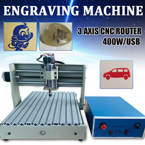 Usb 3axis Cnc 3040z Router Engraving Milling Mdf Board Wood Cutter 3d Machine De