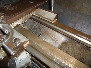 Colchester Triumph 2000 Clausing Colchester 15 Lathe Bed Way Wipers