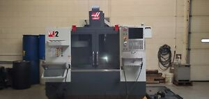 Used 2017 Haas Vf 2 Cnc Vertical Machining Center Mill Rigid Tap Usb 1mb Chip Ct