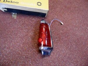 Nos Pontiac 1963 Tail Lamp Assembly Passenger Side All Full Size Wagons Q