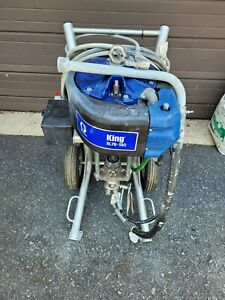 Graco King 70 1 Sprayer Integrated Filter Heavy Duty Cart Air Controls