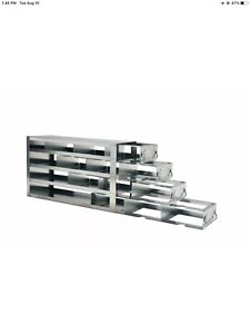 Vwr Upright Freezer Racks With Drawers For 2 Boxes 76027 804