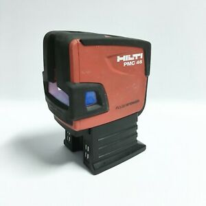 Hilti Pmc 46 Combo Laser Level Cross Line 4 Points Red Beam Pre owned