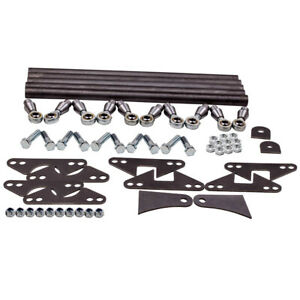 Rear Weld On Parallel 4 Link Suspension Truck 24 Bars Kit Hex Head Bolts