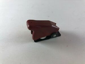 Vintage Antique Dark Red Toggle Switch Cover Guard 8497k1 Ms25224 1