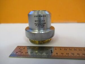 Leitz Germany Objective 4x 170 Optics Microscope Part As Pictured 4t a 40