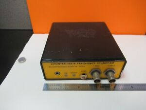 Collectable Wenzel Counter mate Frequency Standard Quartz As Pictured p7 a 19